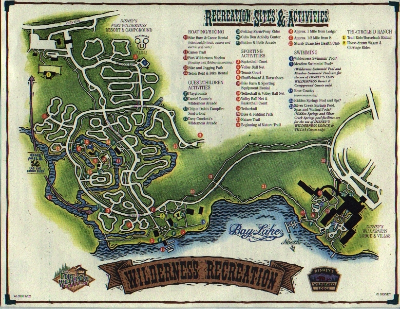wilderness lodge fort wilderness exercise trail running at disney
