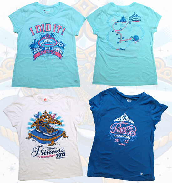 Disney's Princess Half Marathon Merchandise