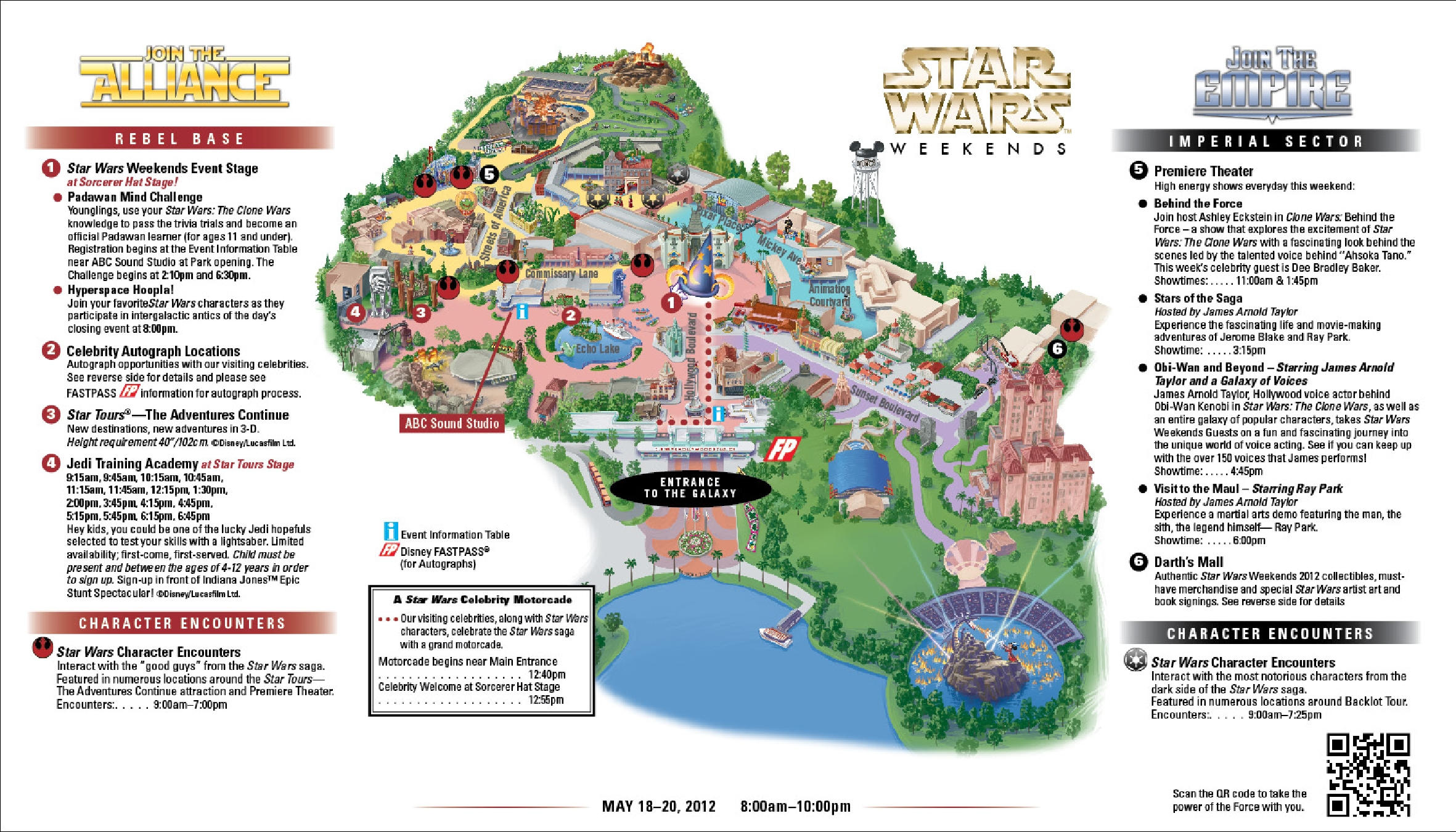 Star Wars Weekends Schedule Released – Finally!