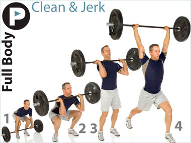 Image result for clean and jerk crossfit