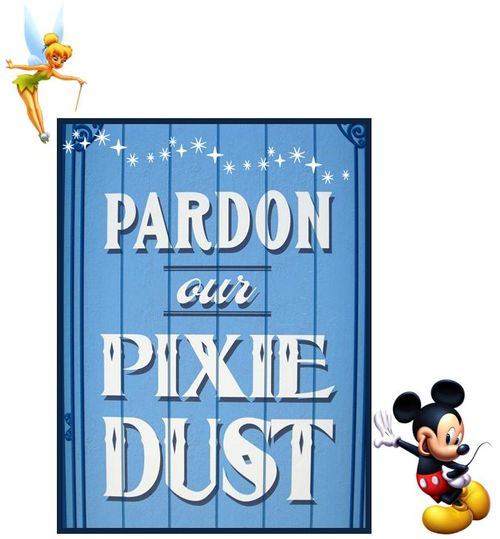 Pardon Our Pixie Dust!