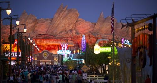 Cars Land Will Be the Highlight of Disneyland Half Marathon Weekend