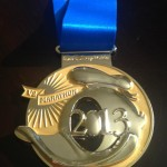 Donald's New 2013 Half Marathon Medal Released!