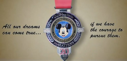 20th Anniversary Walt Disney World Marathon Medal Revealed!