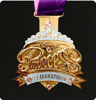 5th Anniversary Princess Half Marathon Medal Revealed, Plus A Chance to Stay in Cinderella's Castle