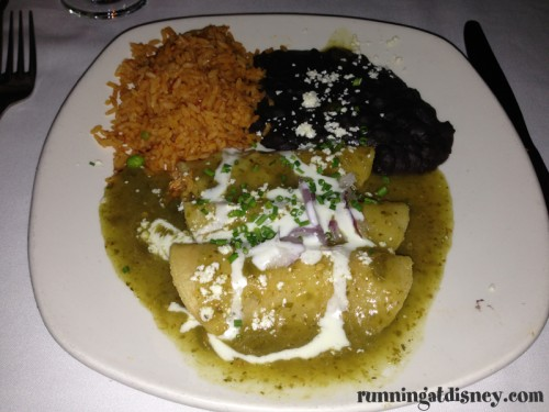 Enchiladas Verde De Pollo at San Angel Inn