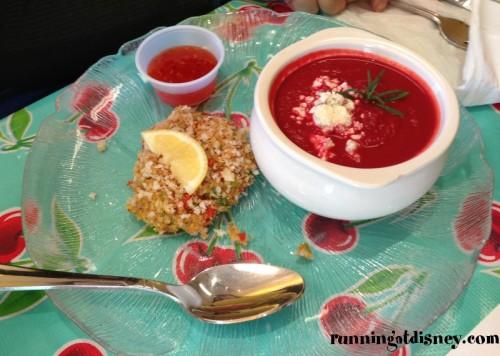 Crab Cake & Soup