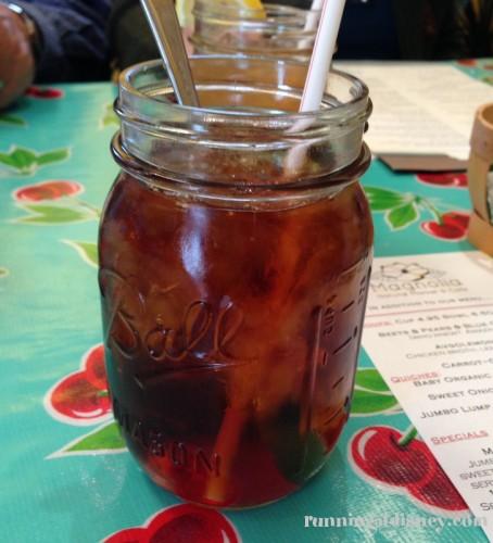 Unsweetened Mango Iced Tea
