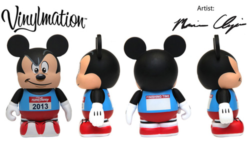 New runDisney Vinylmations for 2013 Walt Disney World Marathon Weekend
