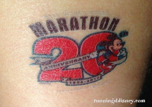 01 Marathon Tattoo
