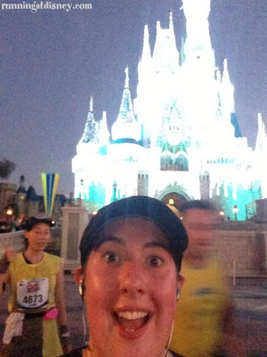 I just ran through the castle!!