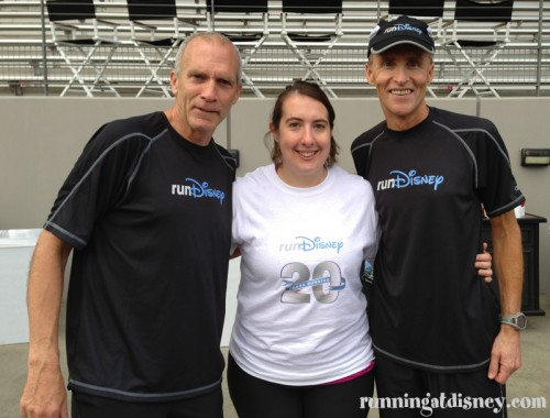 Running Legends Bart Yasso & Dick Beardsley with lil ole me :)