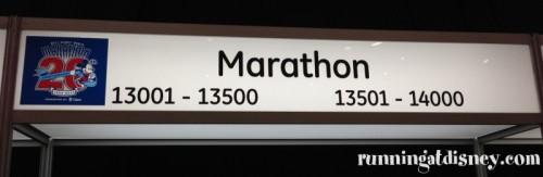 Marathon Bib Pick Up...OMG!