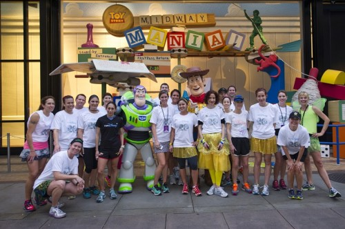 Woody & Buzz!Photo Courtesy of runDisney