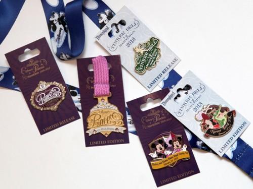 Tinker Bell & Princess Half Marathon Pins