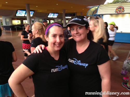 Amanda & I in runDisney Gear