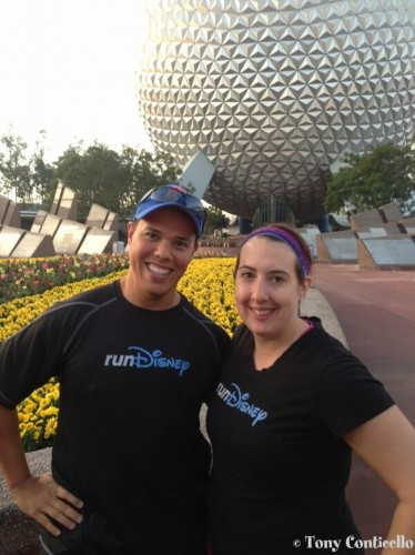Me & Tony from Pacebook Running Club