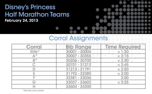 Princess Team Corrals
