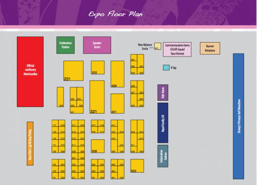Princess Expo Map