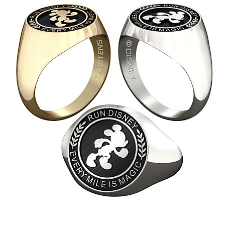 Mickey Mouse runDisney Ring Available for Men & Women