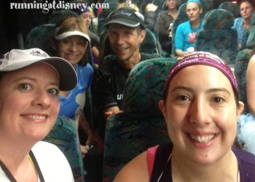 Me, Amanda, Barbara & Jeff!!   Best bus ride EVER!