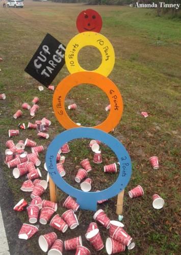 Cup Target!