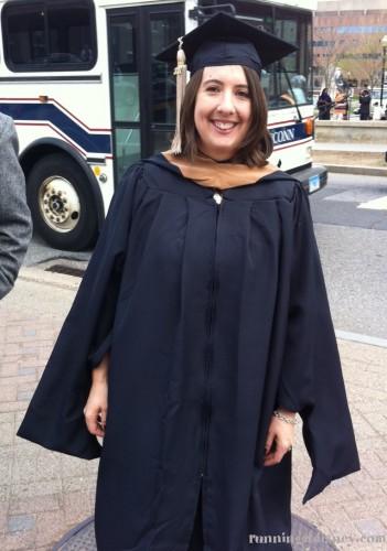 Hey I graduated!
