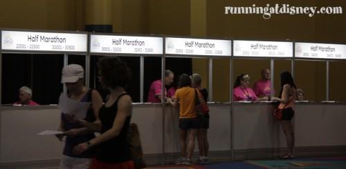 Half Marathon Check In