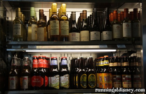 Beer & Wine Selection