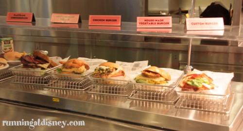 Oh so many burgers...