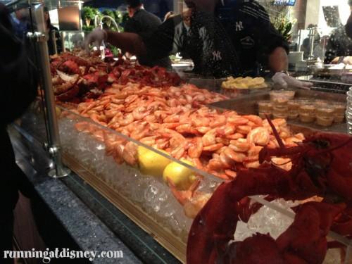 Cold Seafood Station Shrimp & Lobster