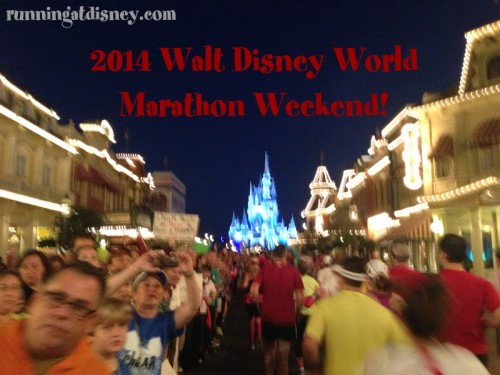 New Information for 2014 Walt Disney World Marathon Weekend!