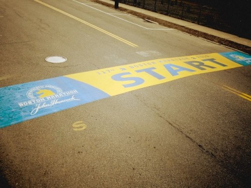 Boston Start Line