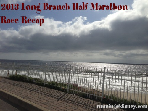 Long Branch Half Marathon Race Recap