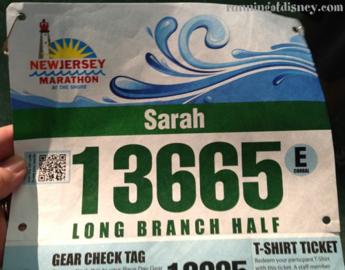 Long Branch Half Marathon Expo and Pre-Race Shenanigans