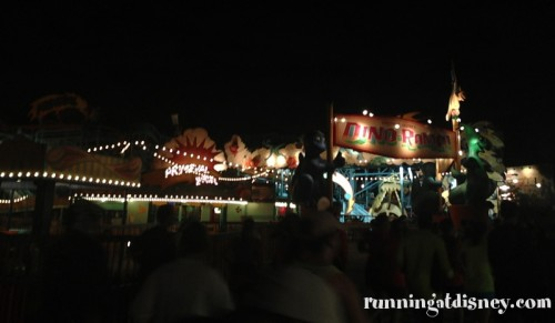 Dino-Rama from the 2012 Wine & Dine Half Marathon