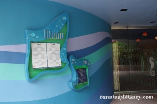 003 Coral Reef_Entrance Menu