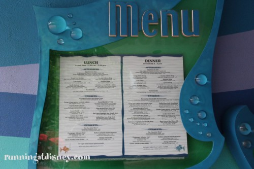 004 Coral Reef_Entrance Menu2