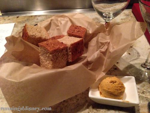 Honey Wheat Bread includes eggs