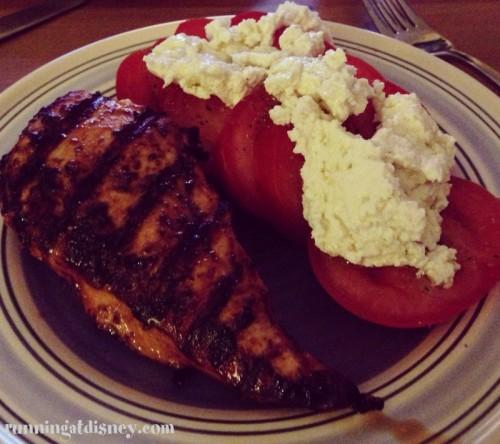 Grilled Chicken, Tomatoes & Vermont Shepard Ricotta