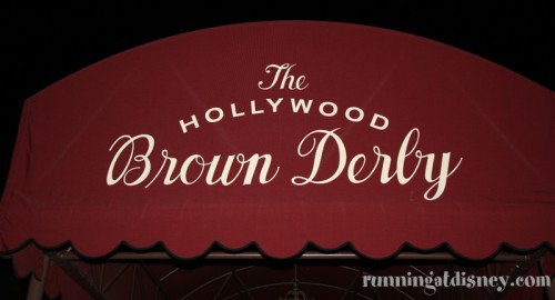 Cobb Salad_Brown Derby Sign