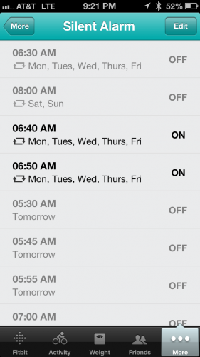 Silent Alarm Settings