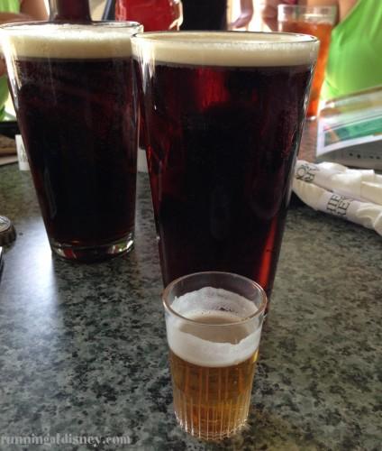 Post race beers!