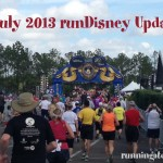 July 2013 runDisney Update