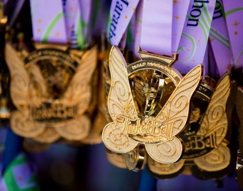 Tinker Bell Half Medal
