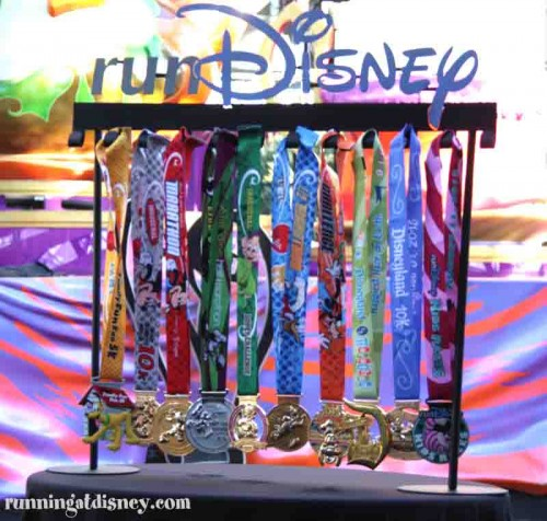 A Closer Look at the New Walt Disney World Marathon Weekend Medals