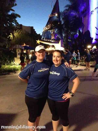 runDisney BFF Amanda & I!