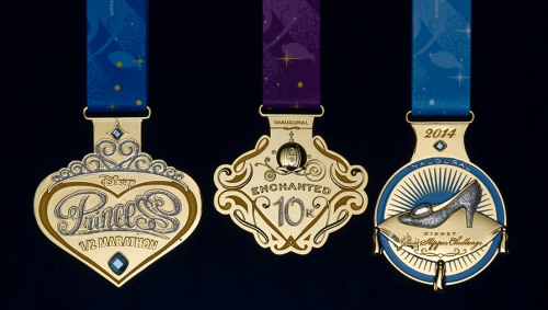 New Medals for 2014 Tinker Bell and Princess Half Marathon Weekends Revealed!