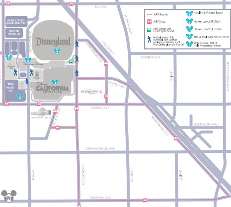 Shuttle Transportation Map