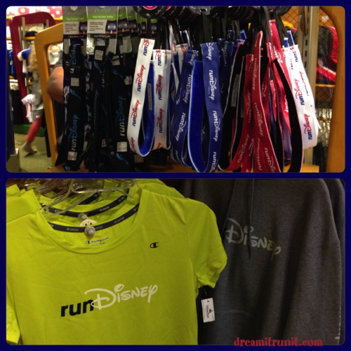 Small selection of official runDisney items.